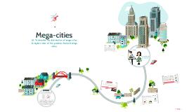 YR 9 L3 - Mega-cities 2016