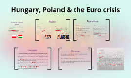 Hungary, Poland & the Euro crisis