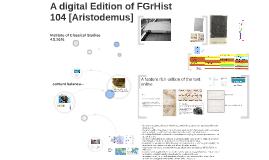 [Aristodemo] FGrHist 104