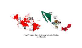 Final Project – Part II: Immigration in Mexico and Canada
