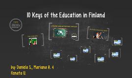 10 Keys of the Education in Finland