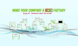 Make your company a talent factory