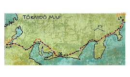 Map of Tokaido