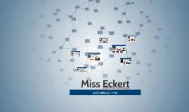 Miss Eckert