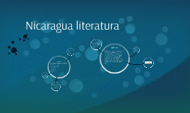 Nicaragua literatura