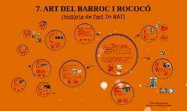 Tema 8. L'art del Barroc