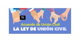 Acuerdo de Union Civil