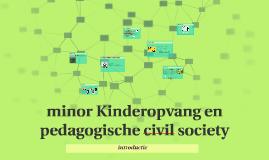 minor Kinderopvang en pedagogische civil society