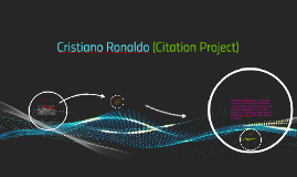 Cristiano Ronaldo (Citation Project)