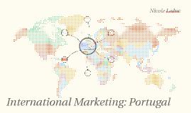International Marketing: Portugal