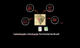 A Formação Territorial Colonial