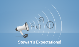 Stewart's Expectations!