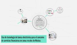 Uso de tecnología de banca electrónica para el consumo de se