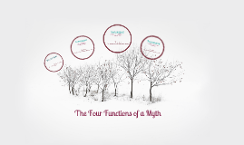 Copy of Four functions of a myth