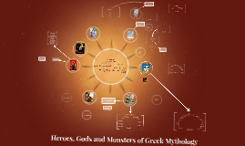 Copy of Heroes, Gods and Monsters of Greek Mythology