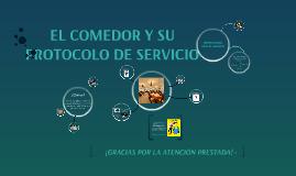 BUENAS PRÁCTICAS DE SERVICIO A LA MESA