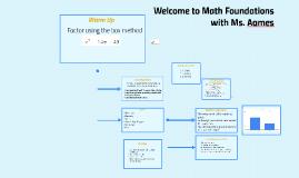 84. Math Foundations