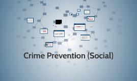 Lesson 5: Crime Prevention (Social)