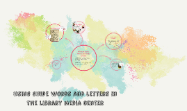 using guide words and letters in the library media center
