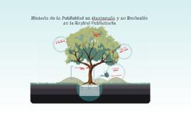 Copy of Historia de la Publicidad en Guatemala y su Evolución en la