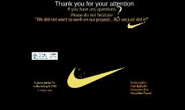 Nike Online presence