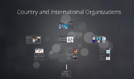Country and International Organization