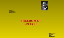 Copy of Freedom of Speech
