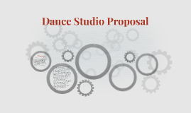 Dance Studio Proposal