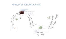 Copy of Método de Porcentaje Fijo
