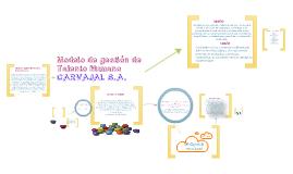 Copy of Modelo de Gestion del talento Humano Carvajal S.A.