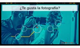 ¿Te gusta la fotografía?