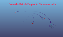 From Bristish Empire to Commonwealth