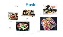 Sushi spreekbeurt (ook oud)