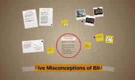 Five Misconceptions of BIM