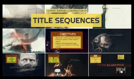 TITLE SEQUENCES