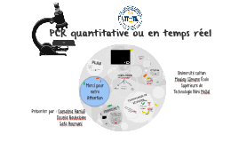 La PCR en temps réel: principes et applications