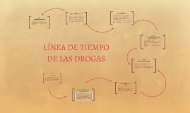 Copy of LÍNEA DE TIEMPO DE LAS DROGAS