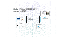 Shalia Wallace NREMT, BSPH