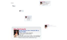 Charactirization-Princess Diaries (Ten out of Ten)
