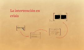La intervención en crisis
