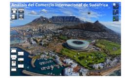 Análisis del comercio internacional de Sudáfrica