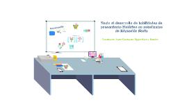 Copy of Hacia el desarrollo de habilidades de pensamiento histórico en estudiantes de Enseñanza Media