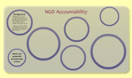 NGO Detriment and Accountability