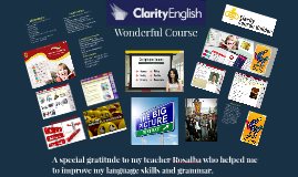 Clarity English Course