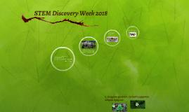 STEM Discovery Week 2018