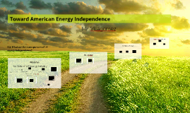 Fracking: Toward American Energy Independence?