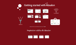 Copy of Getting started with Absalon