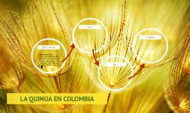 LA QUINUA EN COLOMBIA