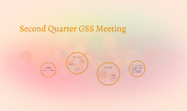 Second Quarter GSS Meeting