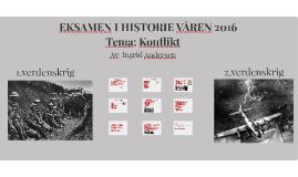 EKSAMEN I HISTORIE VÅREN 2016